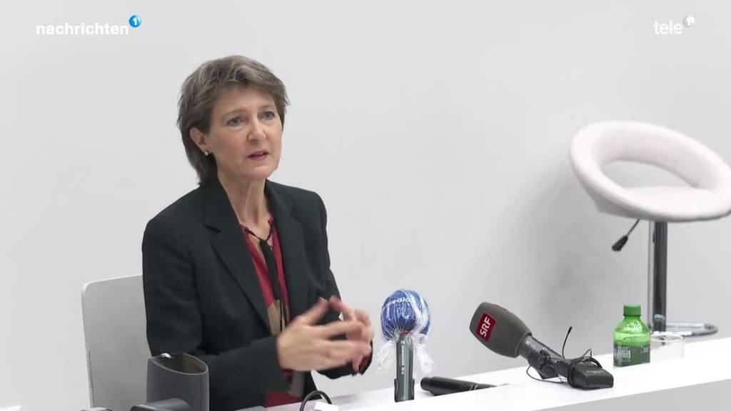 Simonetta Sommaruga zu Besuch im Kanton Luzern