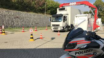 Schwerverkehrskontrolle in Sissach