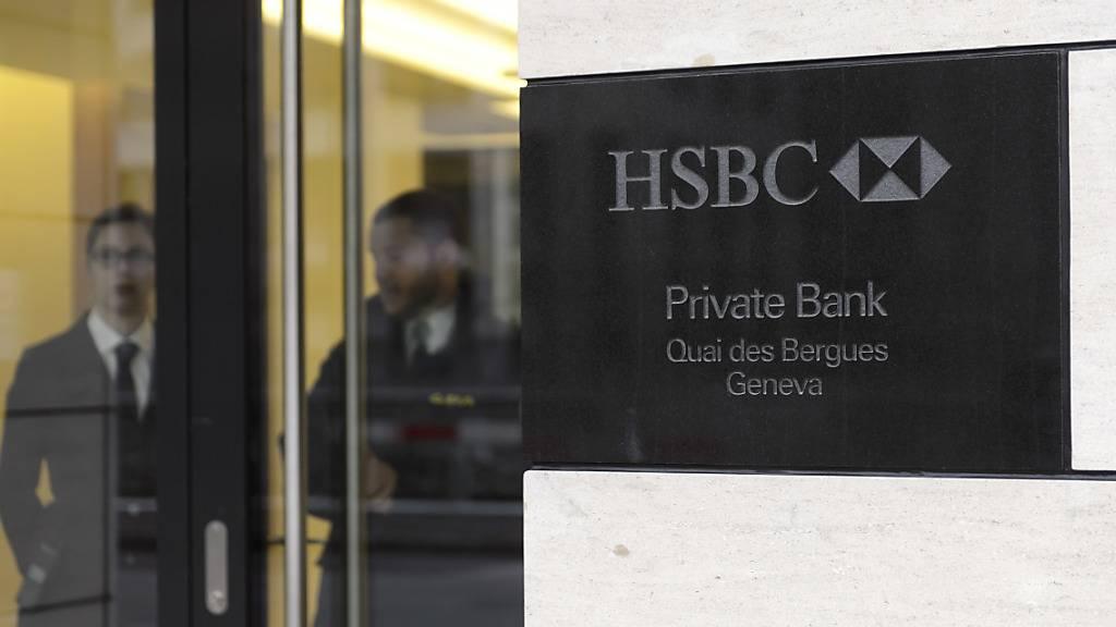 Einang der HSBC-Privatbankfiliale in Genf. (Archivbild)