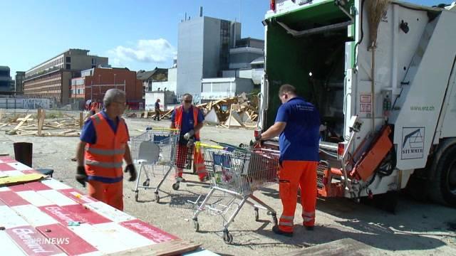 Sortiert, aber nicht abtransportiert: Binz-Besetzer hinterlassen bis zu vier Tonnen Abfall.