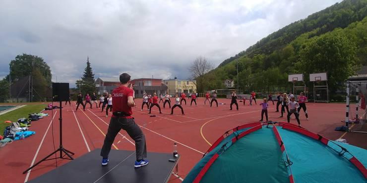 Sportstunde in Bättwil