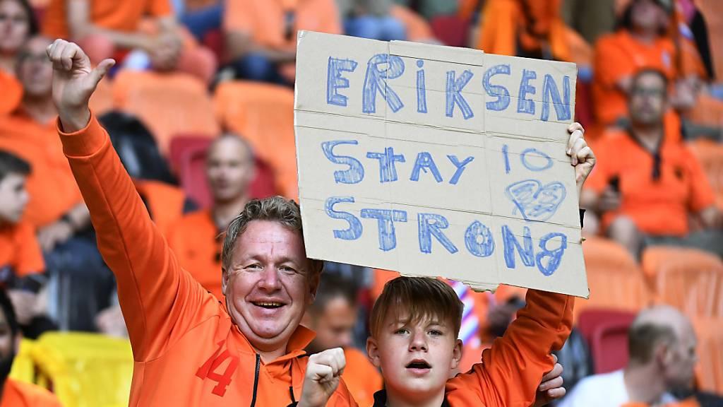 Christian Eriksen weiterhin in stabilem Zustand