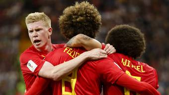 Impressionen zum Gruppenspiel Belgien - Japan