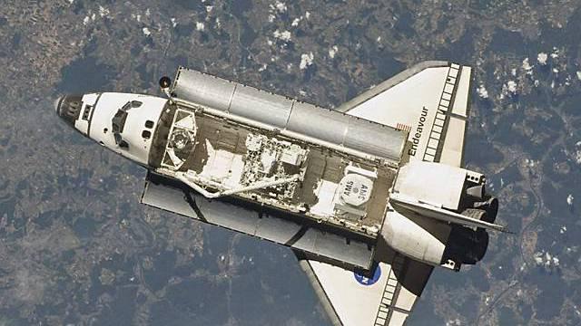 """NASA: Schäden am Hitzeschild der """"Endeavour"""" ungefährlich"""