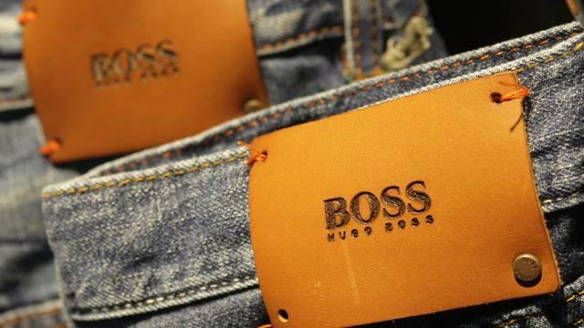 Der Modehersteller Hugo Boss kann sich über einen Rekordgewinn freuen (Archiv)