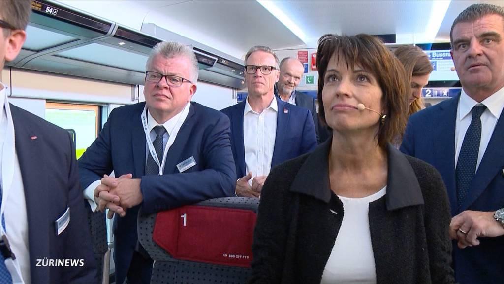 Doris Leuthard peilt VR–Mandat bei Stalder Rail an