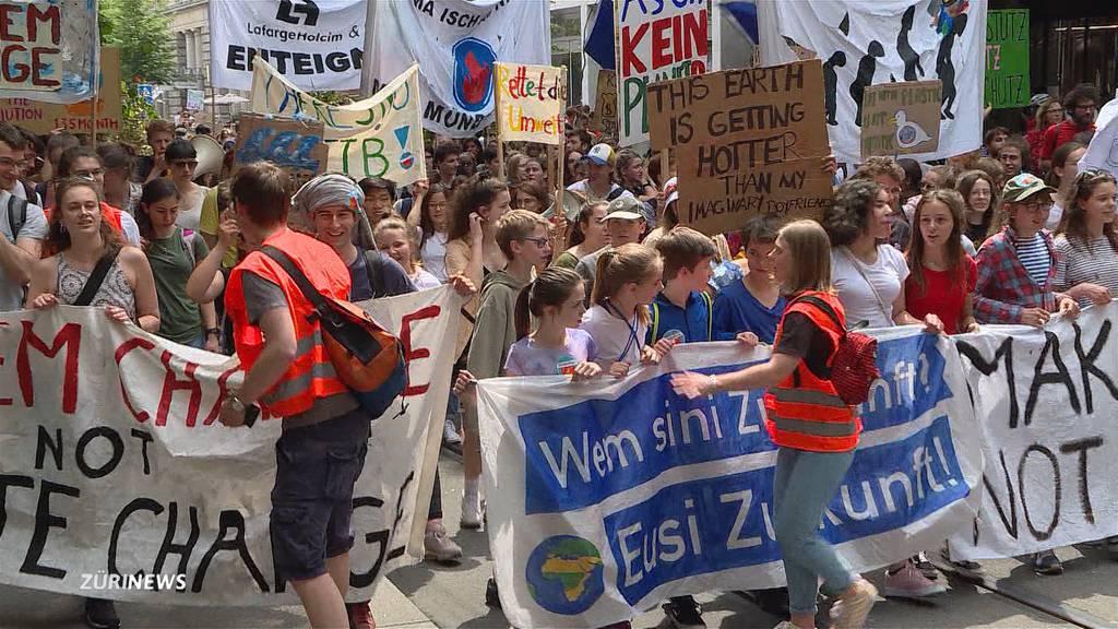 Klimajugend setzt Politiker unter Druck