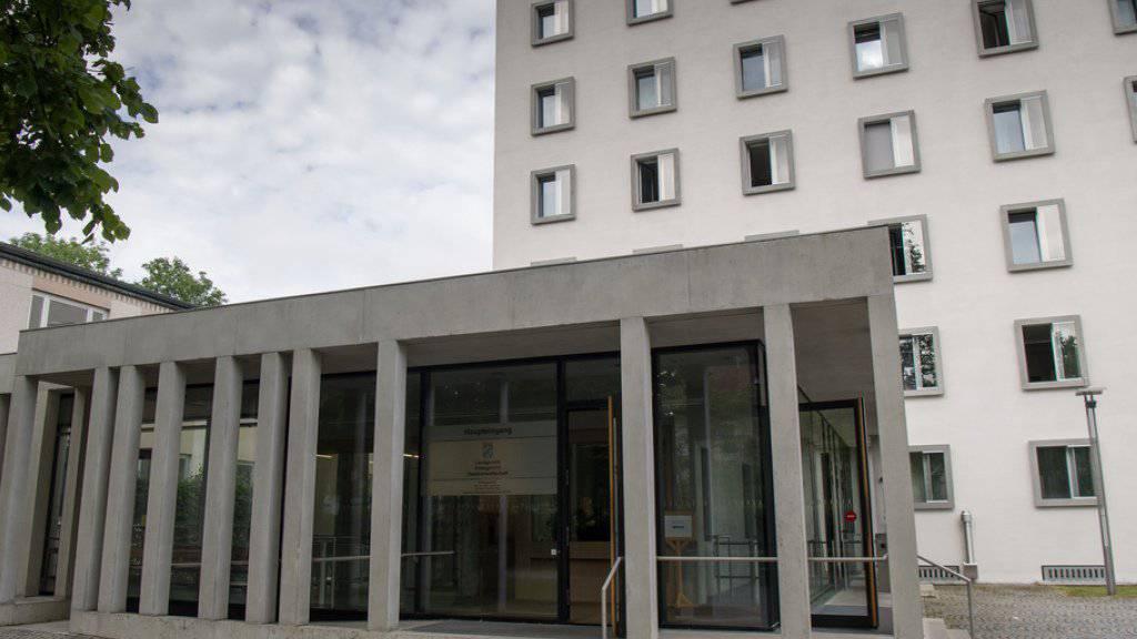 Das Landgericht Traunstein in Traunstein (Bayern), wo am Freitag drei Schlepper verurteilt wurden. (Archivbild)