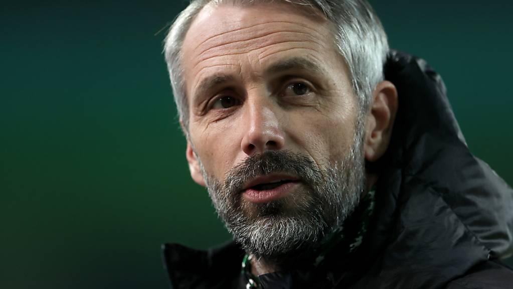 Cheftrainer Marco Rose: An ihm hat sich Mönchengladbachs sportliche Krise entzündet.