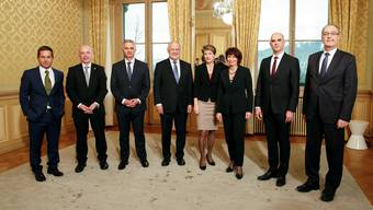 Drei westschweizer Bundesräte - das gab kaum je