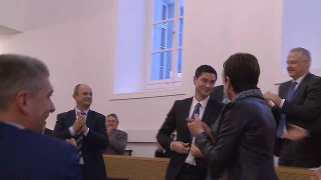 Grosser Rat: Benjamin Giezendanner zum höchsten Aargauer gewählt