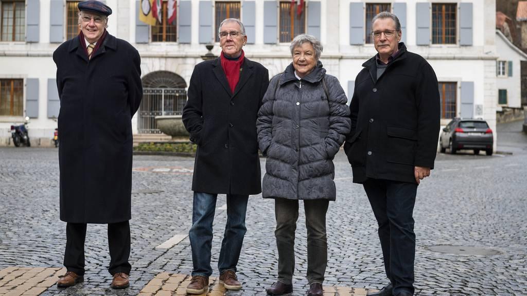 Die Mitglieder des Vereins «Moutier-Resiste» wollen nicht, dass Moutiers Gemeindebehörden eine zweite Jura-Abstimmung organisieren.