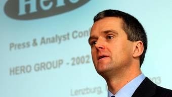 2011 hat Heidenreich den Hero-Konzern verlassen.  (Archiv)