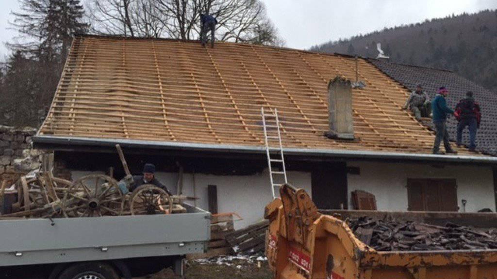 Was ab März dieses Jahres abgebaut wurde, wird nun wieder aufgebaut.