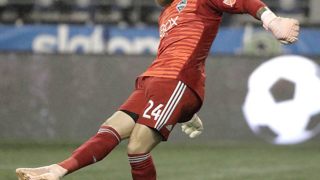 Anerkennung von den Mitspielern, Medien und Fans: Seattles Goalie Stefan Frei wurde zum zweitbesten Goalie der MLS-Saison gewählt