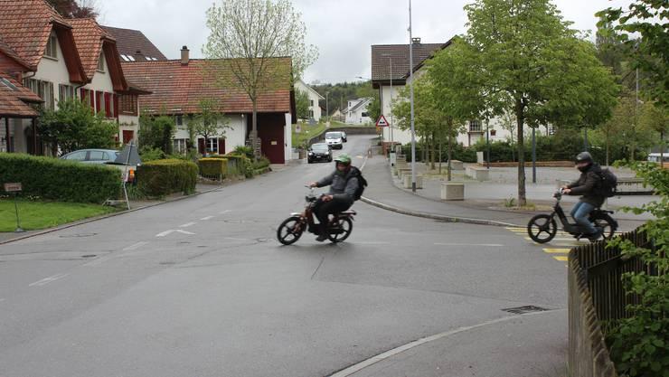 Auf der Küttigerstrasse in Erlinsbach soll auch künftig Tempo 50 gelten.