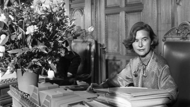 Elisabeth Kopp als Bundesrätin im Jahr 1984. Foto: Keystone