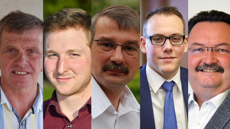 v.l.n.r.: Bruno Born, Stephan Joray, Stefan Schneider, Fabian Gloor, Markus Zeltner.