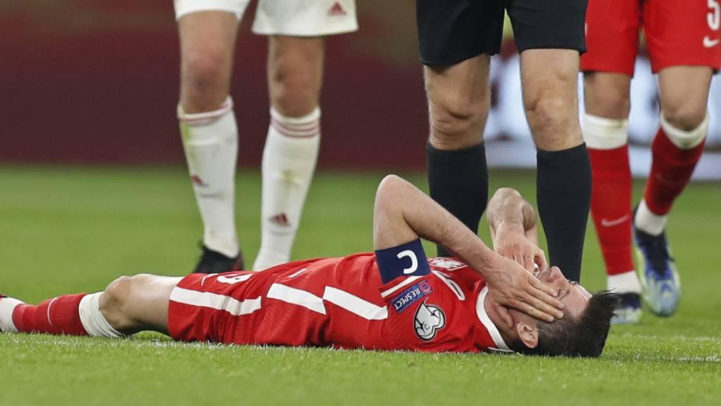 Robert Lewandowski fehlt Bayern München erstmals für längere Zeit
