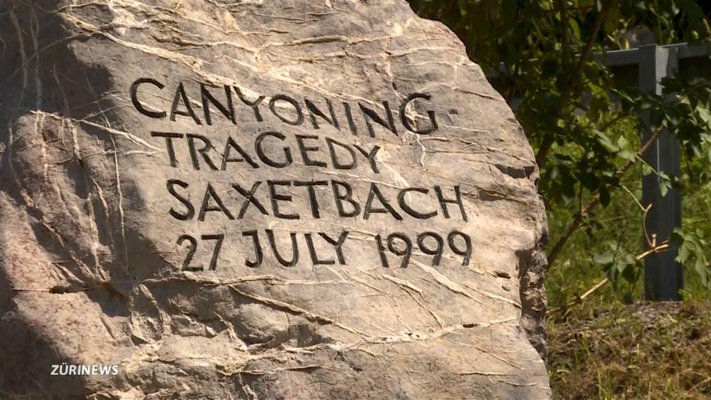 Tragödie am Saxetbach vor 20 Jahren