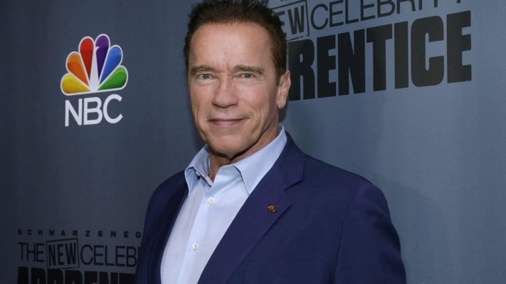 Arnold Schwarzenegger hängt seinen Job an den Nagel bei «The New Celebrity Apprentice». (Archivbild)