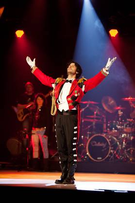 Am 21.11 tritt Stéphane Lambiel mit Rock Circus auf