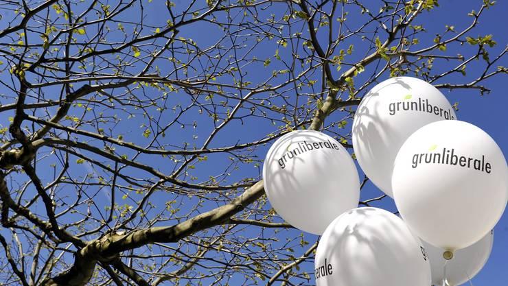 Wie hoch steigt der Versuchsballon Grünliberale Partei? In Basel scheinen sie den Höhepunkt schon erreicht zu haben. Keystone