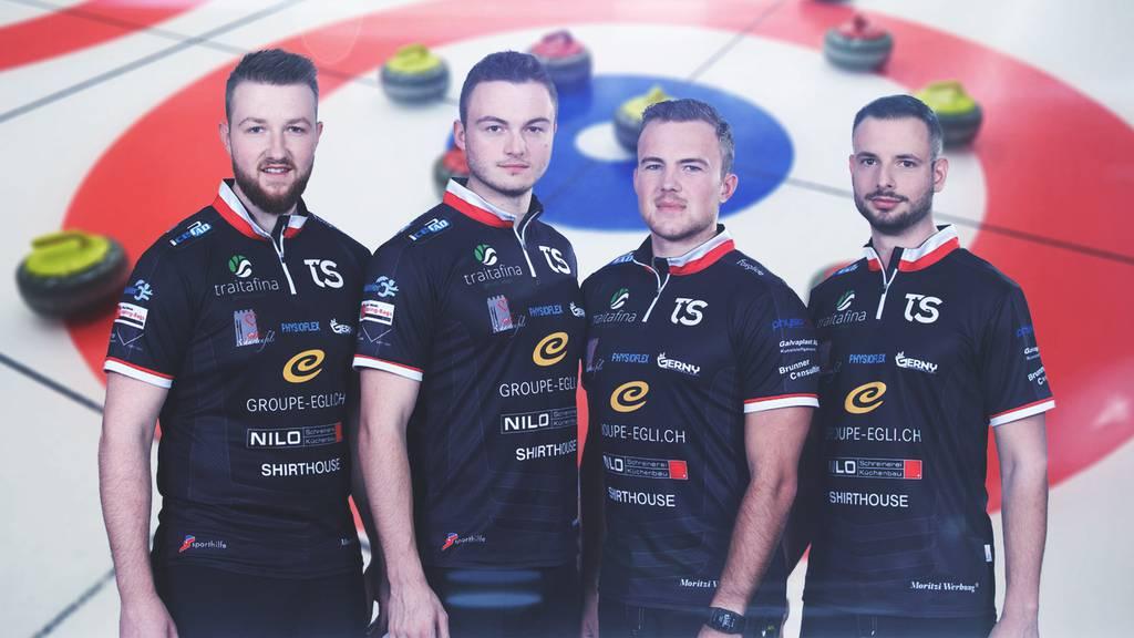 Curling-Team Schwaller kämpft um EM-Qualifikation