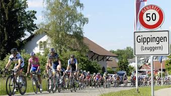 Die Gippinger Radsporttage erhalten eine neue Heimat: Ab kommendem Jahr starten die Fahrer in Leuggern. (Archiv)