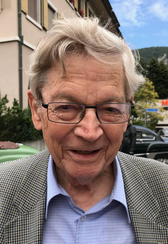 Daniel Müller im Sommer des vergangenen Jahres beim Kurzinterview in Balsthal