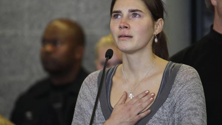 Amanda Knox 2011 vor Gericht in Perugia