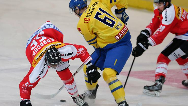Johan Ryno trägt künftig das Trikot des HC Lugano