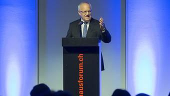 Bundespräsident Johann Schneider-Ammann ging in seiner Rede an der Feier des Schweizerischen Israelitischen Gemeindebundes auch auf die Schattenseiten der Geschichte ein.