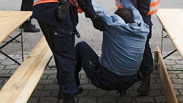 Tod bei Verhaftung (Symbolbild)