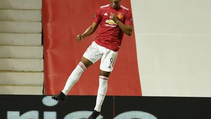 Manchester United und Anthony Martial gehören zu den Favoriten auf den Europa-League-Titel