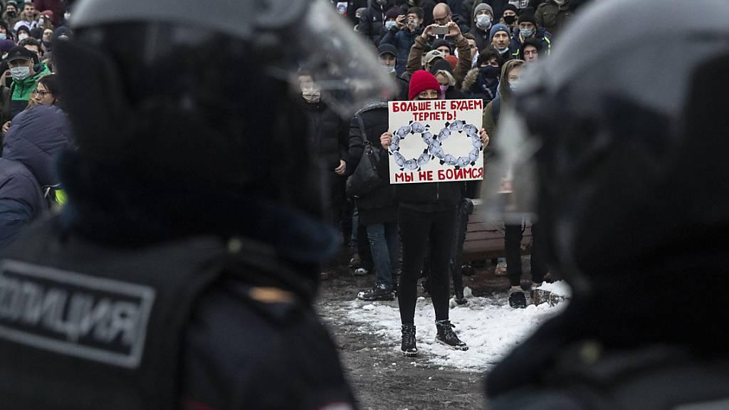 Nach Nawalny-Protesten: Weitere Sanktionen gegen Russland gefordert