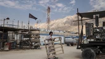 Das grösste Gasfeld der Welt, das acht Prozent der bekannten Gasressourcen umfasst, liegt im Persischen Golf und wird von Iran und Katar getrennt ausgebeutet. (Symbolbild)