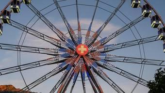 Das Corona-konforme Riesenrad.