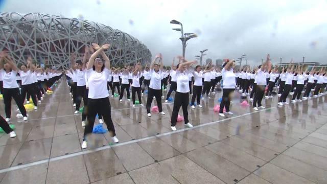 So geht Sport! 90 Millionen Chinesen feiern Fitness-Tag