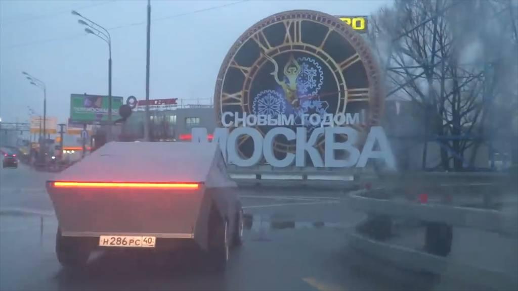 «Tesla Cybertruck» in Russland gesichtet