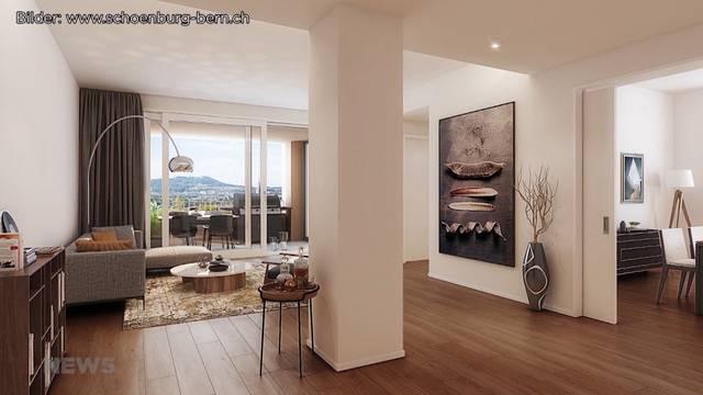 Wohnungen-Schönburg: 2000 Franken für 58 Quadratmeter