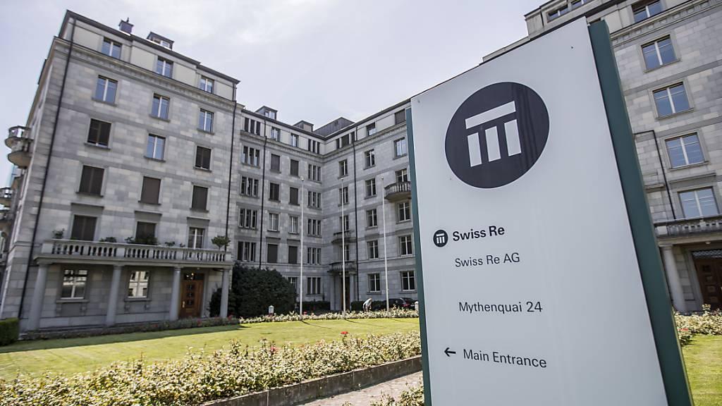 Swiss Re mit Halbjahresverlust von 1,1 Milliarden Dollar