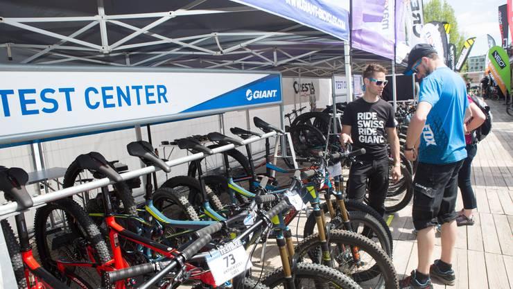 Die Aussteller präsentieren wieder ihre Bikes