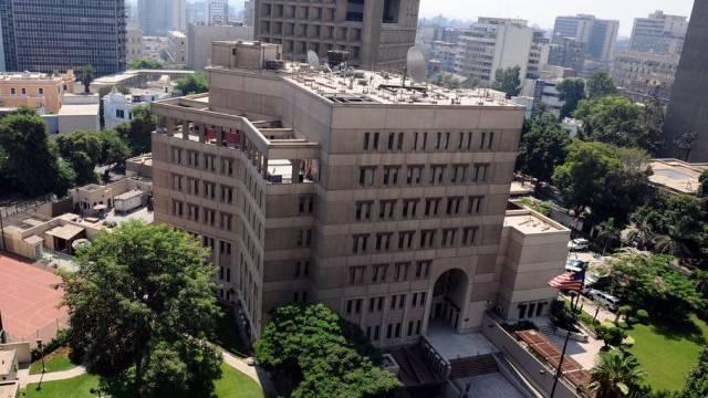 Die US-Botschaft in der ägyptischen Hauptstadt Kairo
