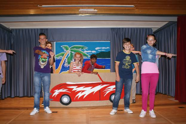 Grease lightning in Aktion