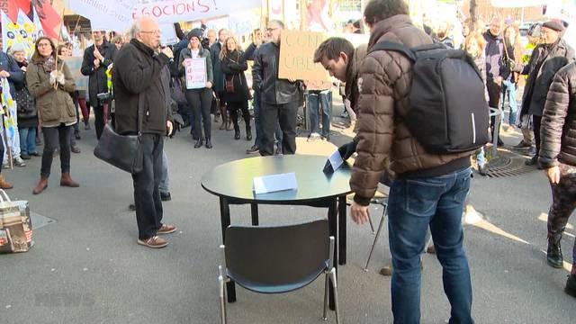 SDA-Streik geht weiter