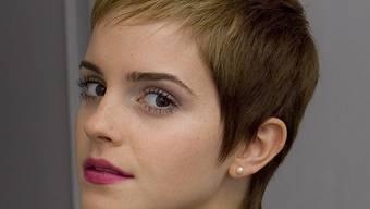 Emma Watson will ihre kurzen Haare wieder wachsen lassen - aus beruflichen Gründen (Archiv)