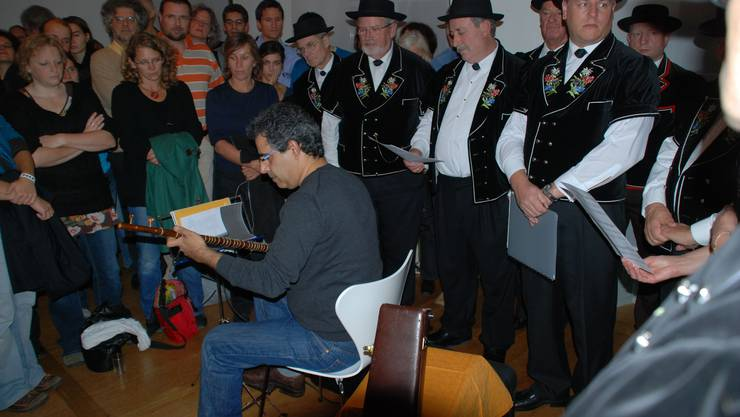 «Aarau meets Teheran» mit dem Jodlerklub