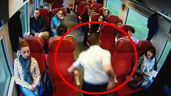 Die Reaktion des polnischen Zugführers ist geistesgegenwärtig – und bewahrt wohl so einige Passagiere von schwereren Verletzungen.