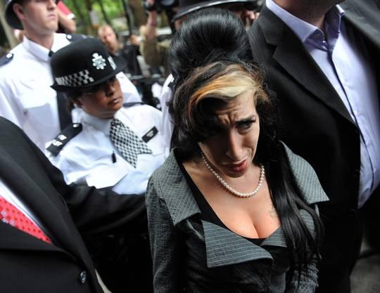 Amy Winehouse wurde von Medien und Fans bedrängt